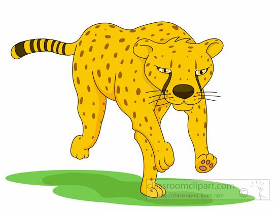 550x415 Cheetah Clipart Cheetah Running Fast Clipart 5