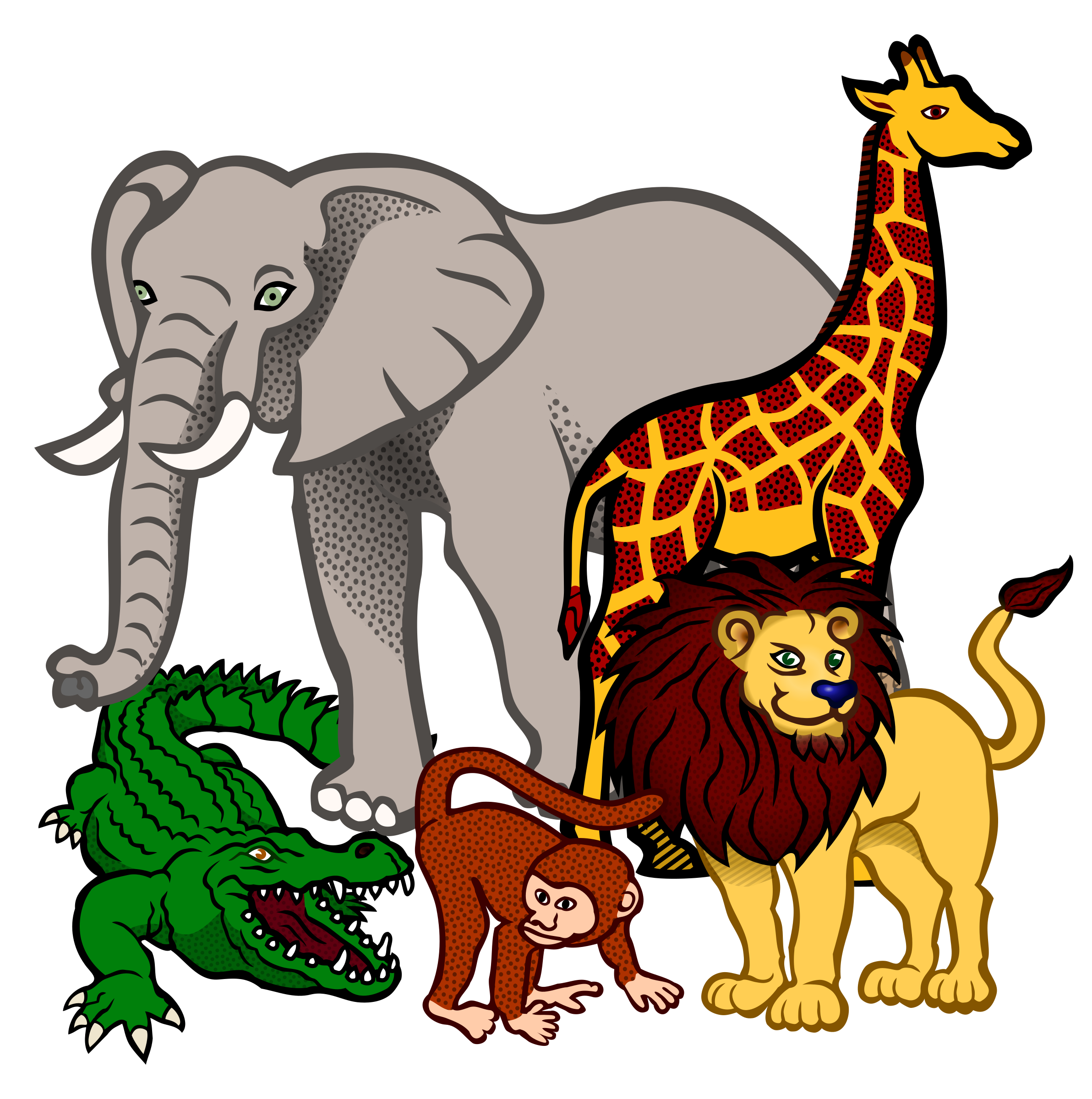2384x2400 Africa Clipart Animal Science
