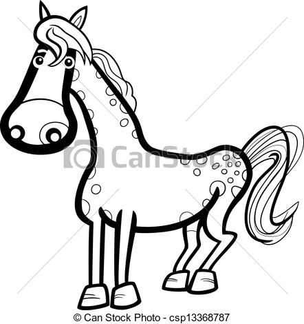 442x470 Farm Animal Black And White Clipart