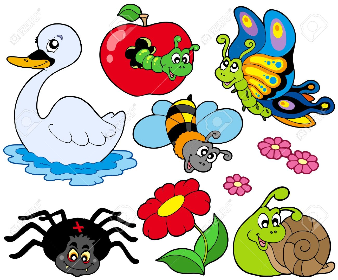 1300x1076 Small Clipart Animals Clipartfest