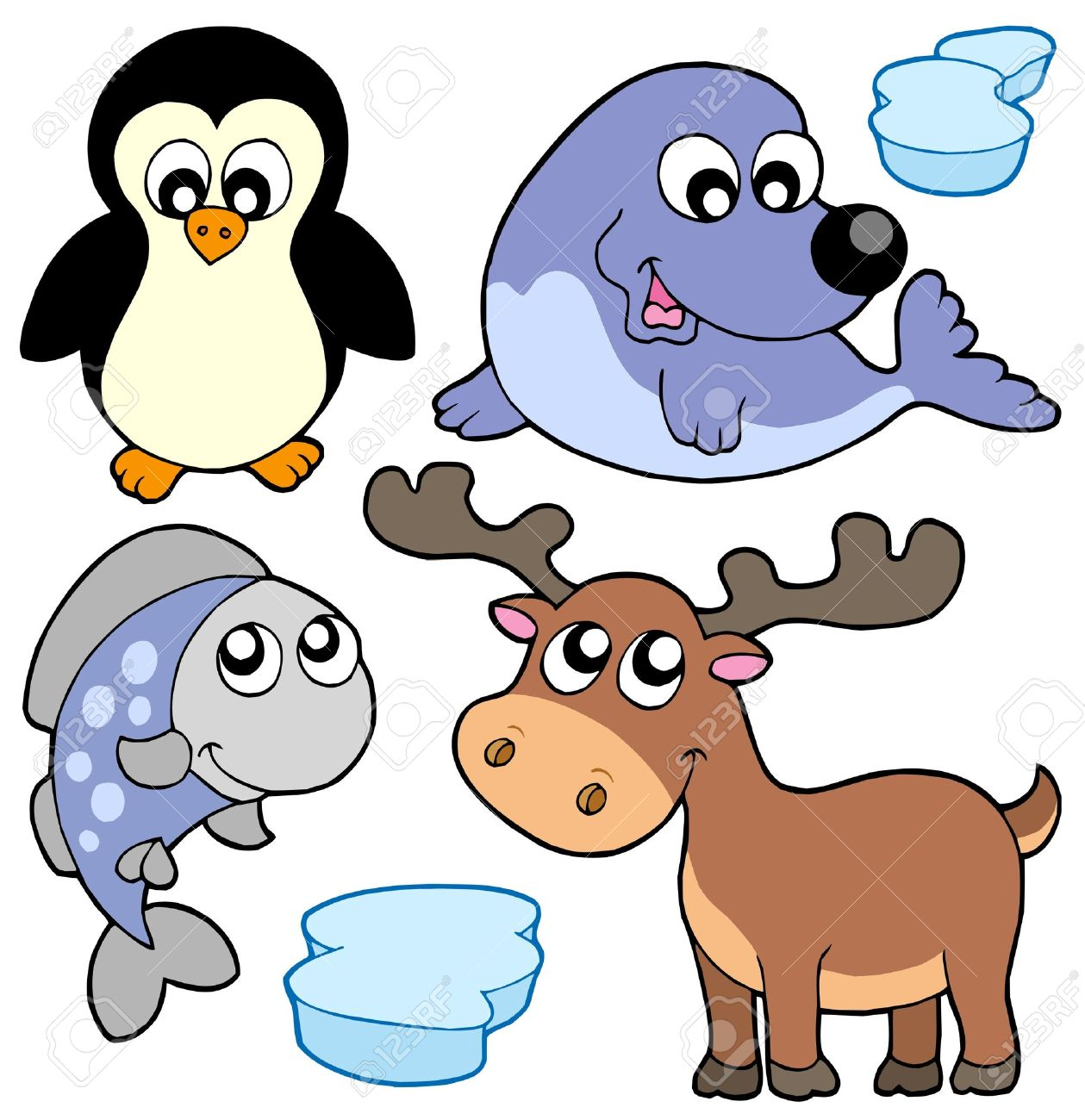 1259x1300 Arctic Clipart Cartoon