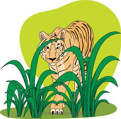 400x394 Tiger Clip Art