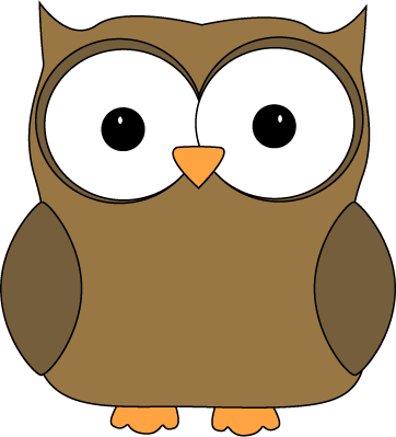 362x399 Cute Brown Owl Clip Art Image 74 Images For Free Clip Art Animals