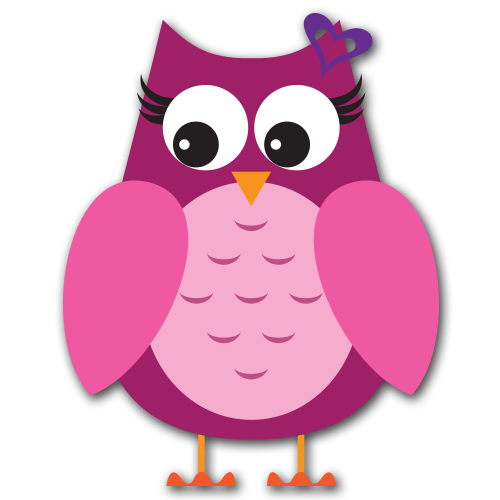 500x500 Image Of Valentine Owl Clipart