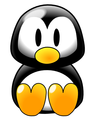 314x408 Cute Little Penguin. Fused Glass And Inspirations