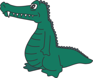 299x252 Alligator gallery for animated gator clip art clipartcow