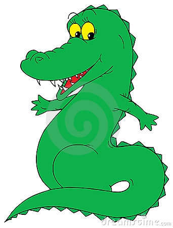 342x450 Animated Real Live Alligator With No Background Clipart