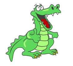236x212 Alligator clipart animated