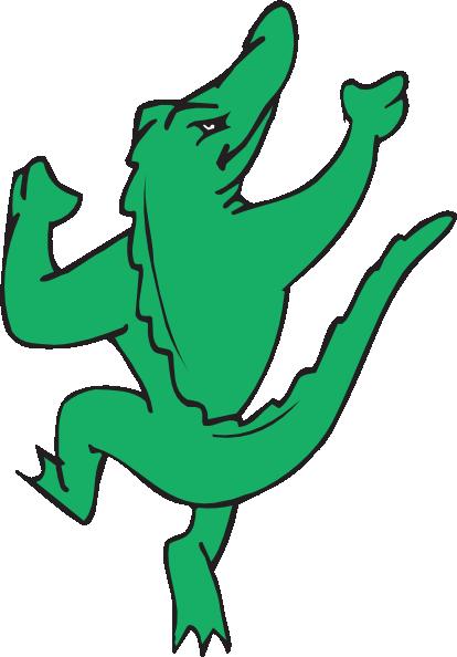 414x594 Crocodile Clipart Dancing