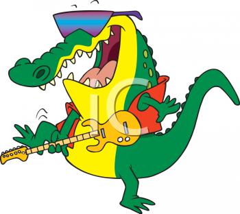 350x312 Crocodile Clipart Swamp Animal