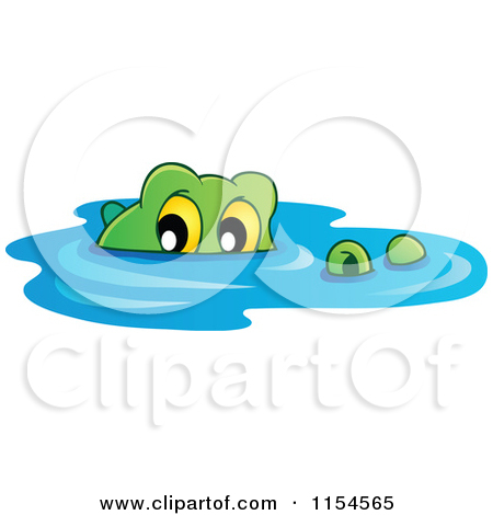 450x470 Crocodile Clipart Water Drawing
