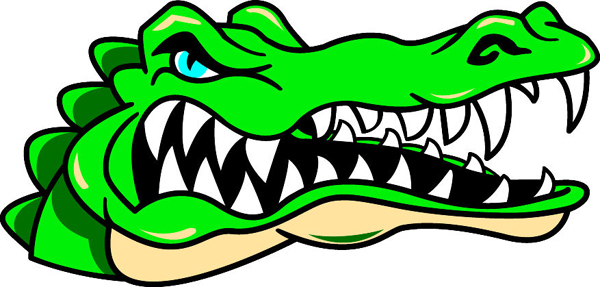 600x287 Head Alligator Clipart, Explore Pictures