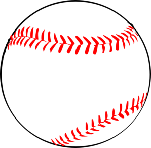 298x291 Baseball Wred Laces Clip Art