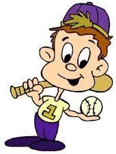 170x225 Free Baseball Clipart