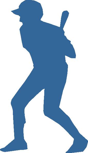 342x594 Baseball Player Clip Art