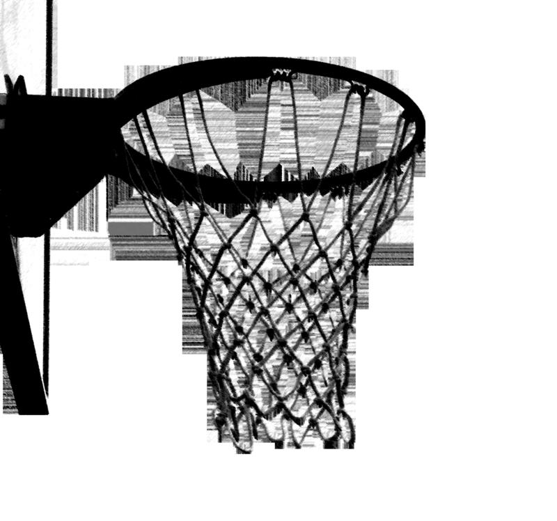 800x748 Cartoon Basketball Hoops