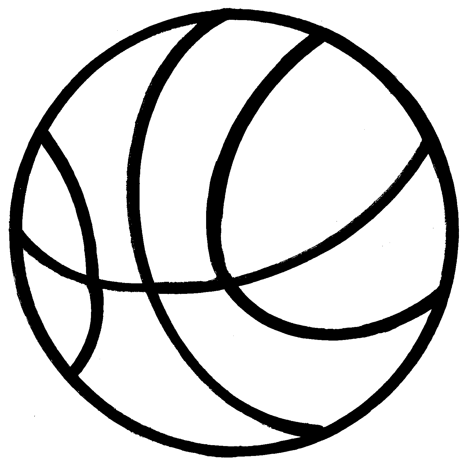 1509x1500 Clipart of basketball ClipartMonk
