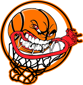 355x361 Basket clipart cool basketball