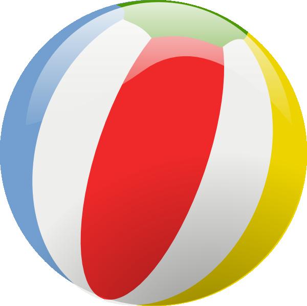 600x598 Beach Ball Clip Art