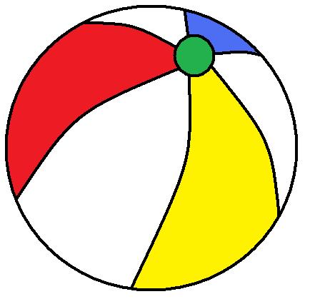 434x419 Beach Ball Clip Art Vector Hubprime