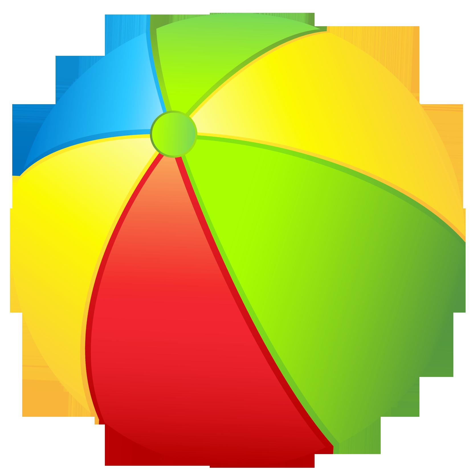 1660x1665 Beach Ball Clipart Clipartix 2