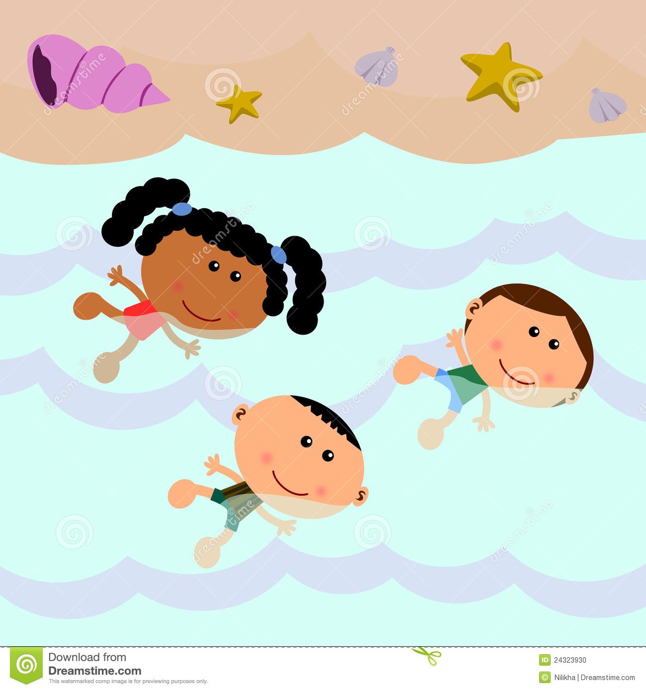 1300x1390 Beach Clipart Swimming
