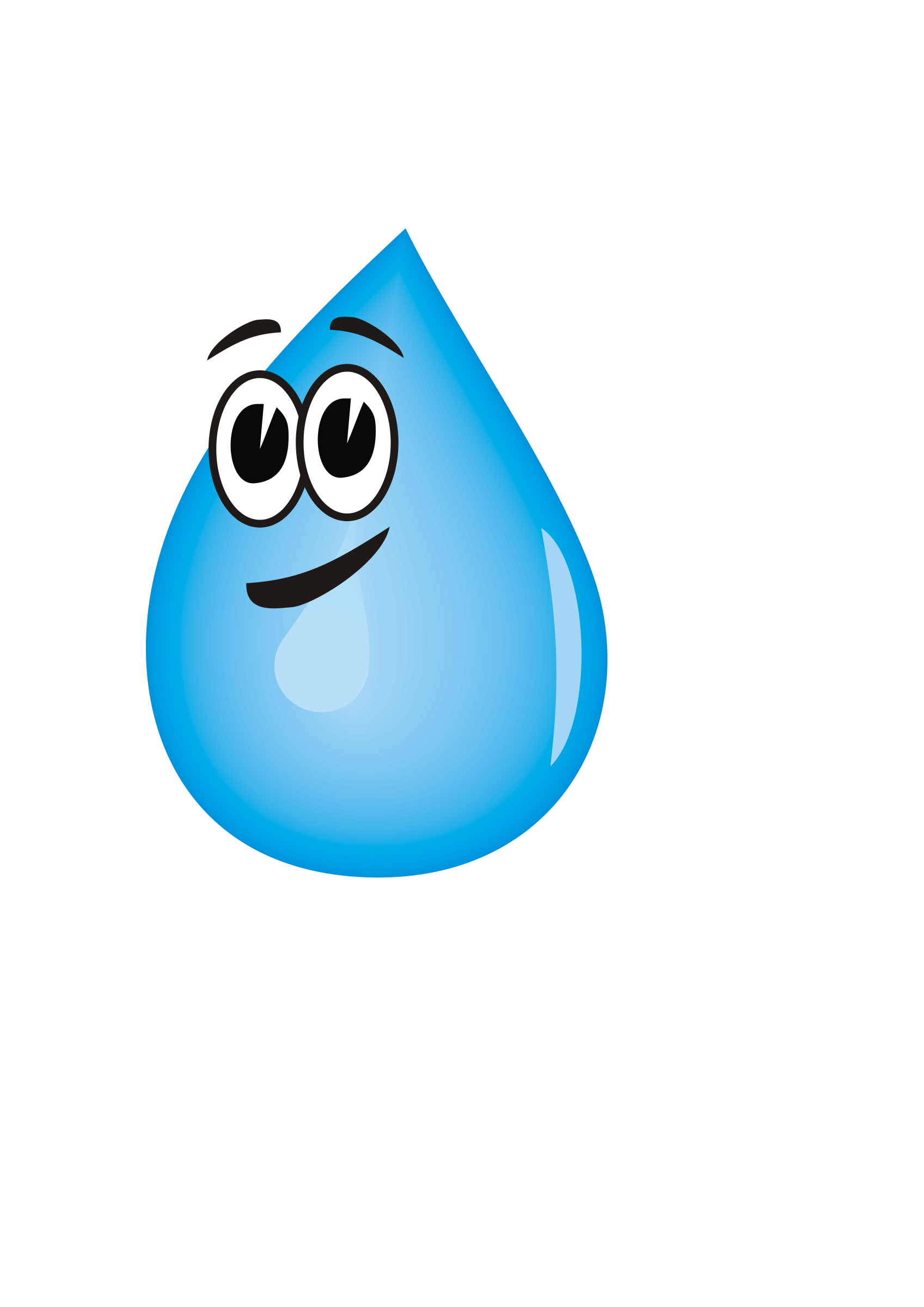 1697x2400 Blue Water Clipart Animated Water