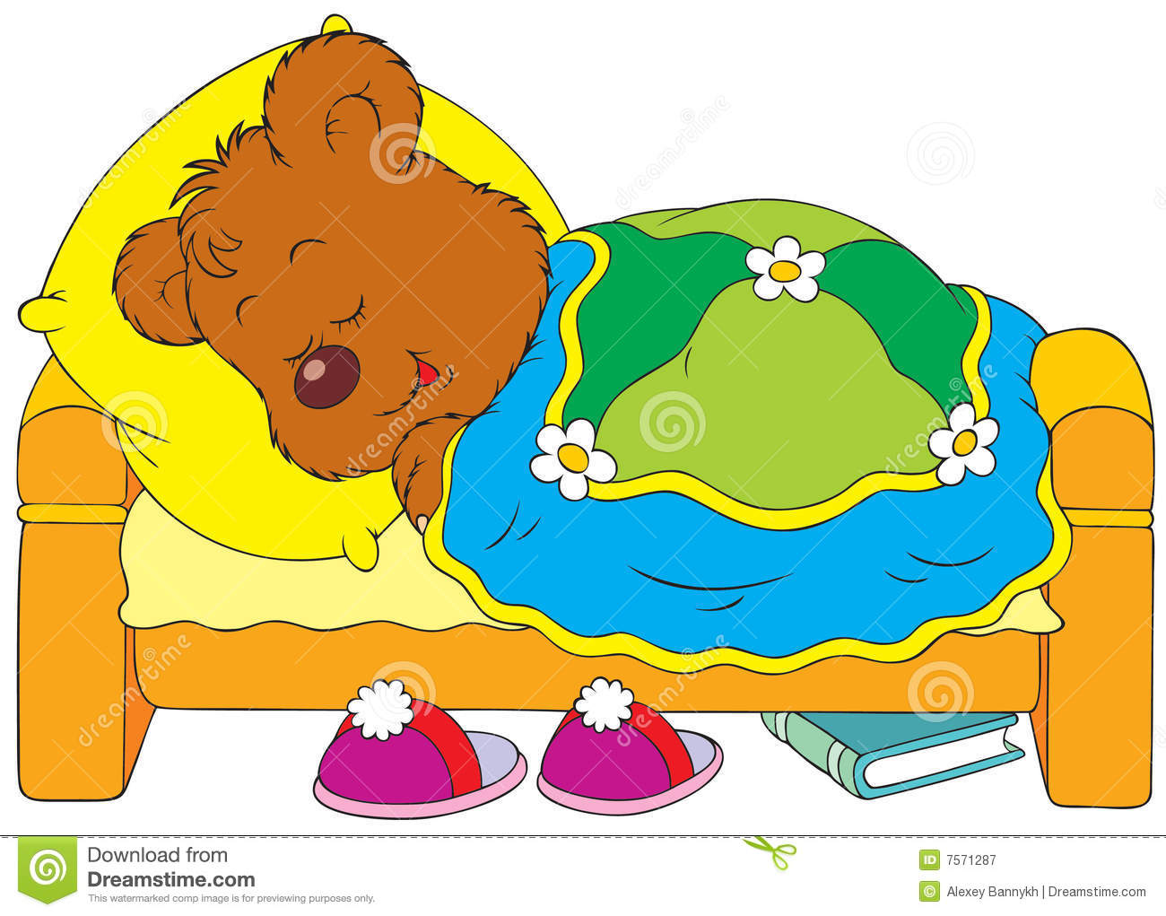 1300x1021 Bed Clipart Children'S