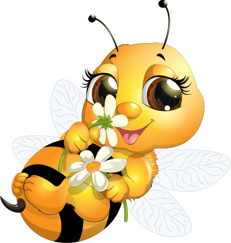 450x473 Bees Clipart Cute Baby Bee