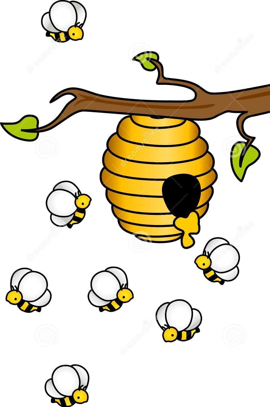 864x1299 Honey Bee Imprimibles De Colores Bees, Craft