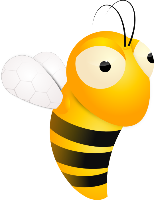 540x700 Animated Bee Clipart Honey