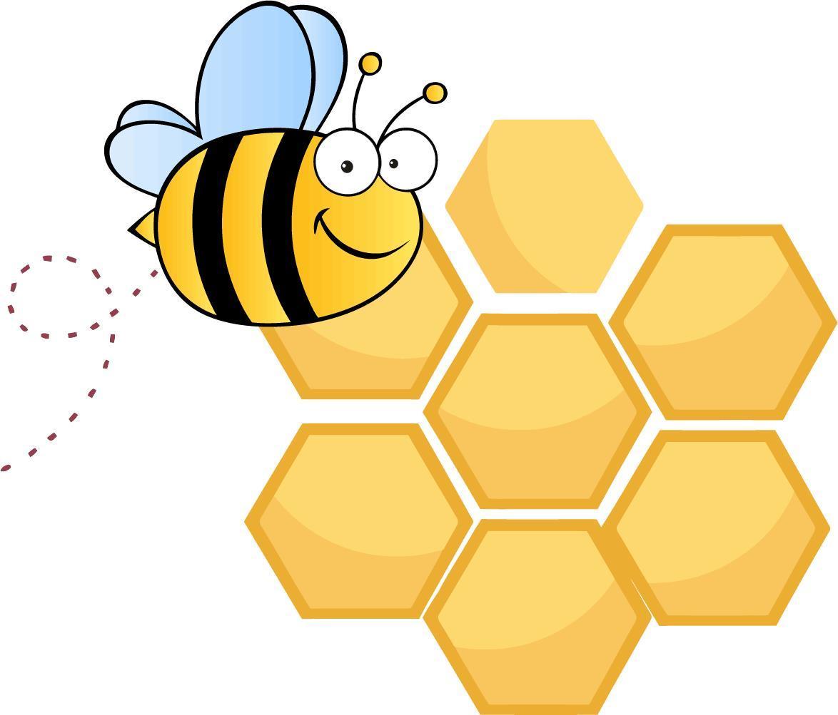 1174x1003 Bee Cartoon Image