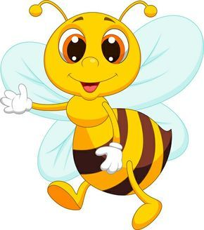 Animated Bees Clipart