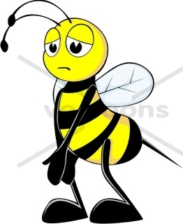 262x320 Bees Clipart Animated