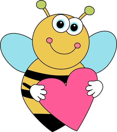 446x500 Best Cute Bee Clipart
