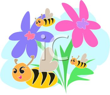 350x305 Clip Art Animated Flowers