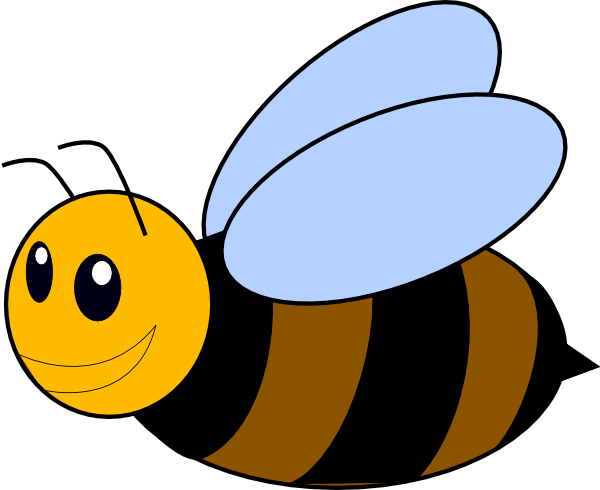 600x490 Honey Bee Clip Art