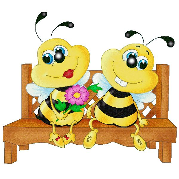 600x600 Bee Clipart