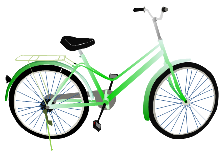 448x307 Bike Free Bicycle Animated Bicycle Clipart Clipartwiz 3