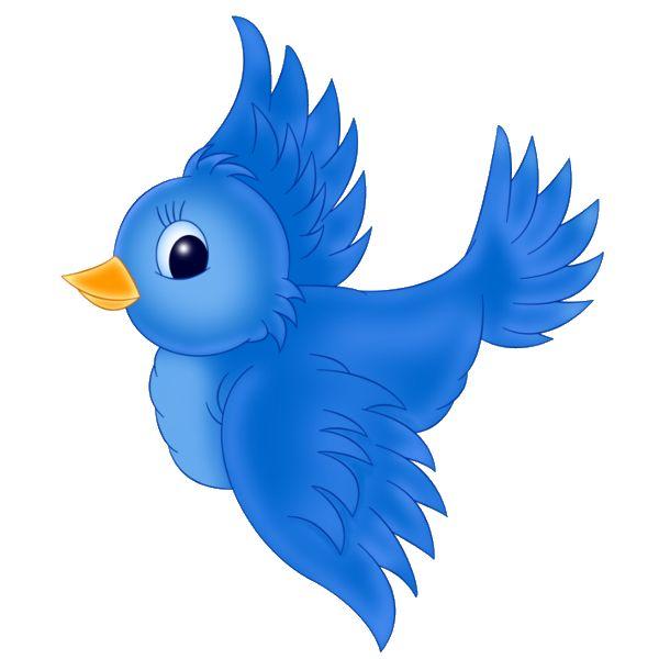 600x600 Blue Birds Birds Clip Art Vogeltjes Birds