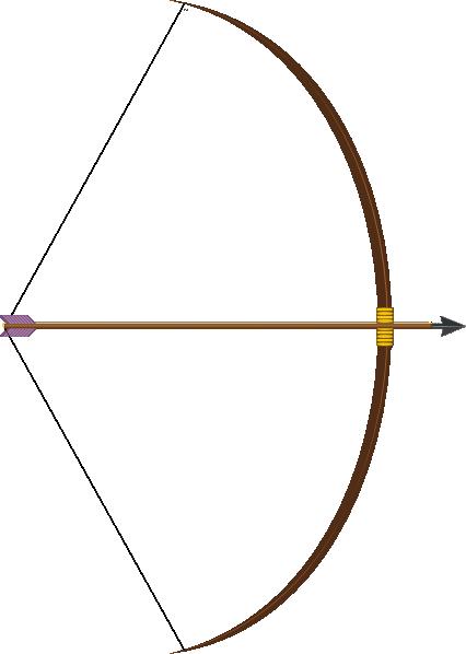 426x598 Bow And Arrow Clip Art