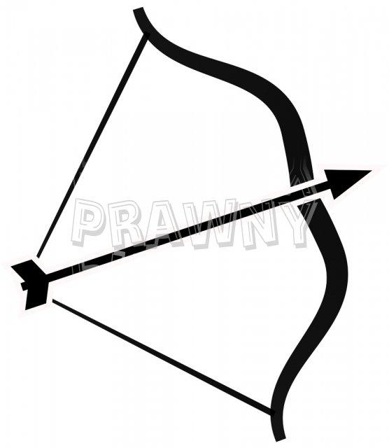 556x640 Bow Arrow Clip Art
