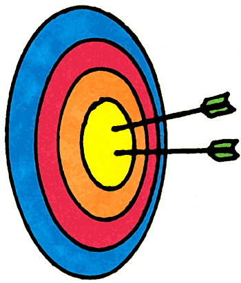 350x411 Gallery For Animated Archery Clip Art Image
