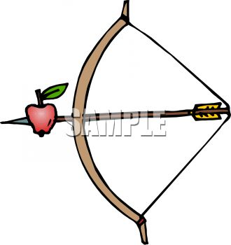 330x350 Royalty Free Clip Art Image Bow And Arrow