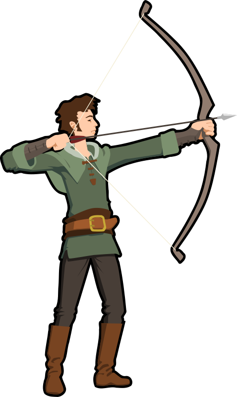 478x800 Best Bow And Arrow Clipart