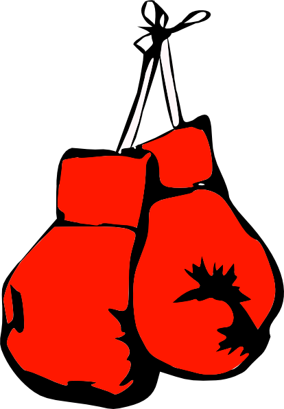 414x596 Boxing Gloves Clip Art