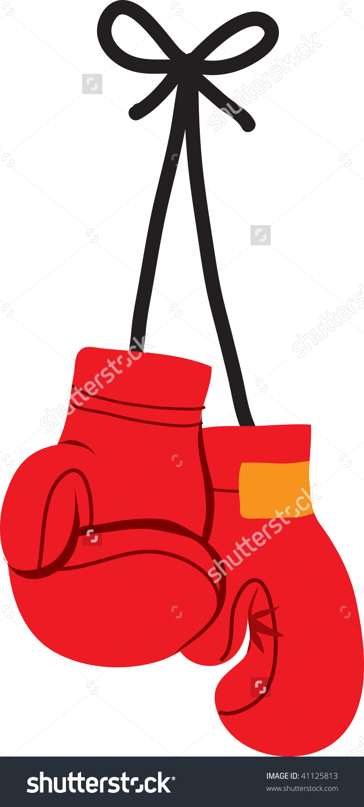 723x1600 Boxing Gloves Clipart
