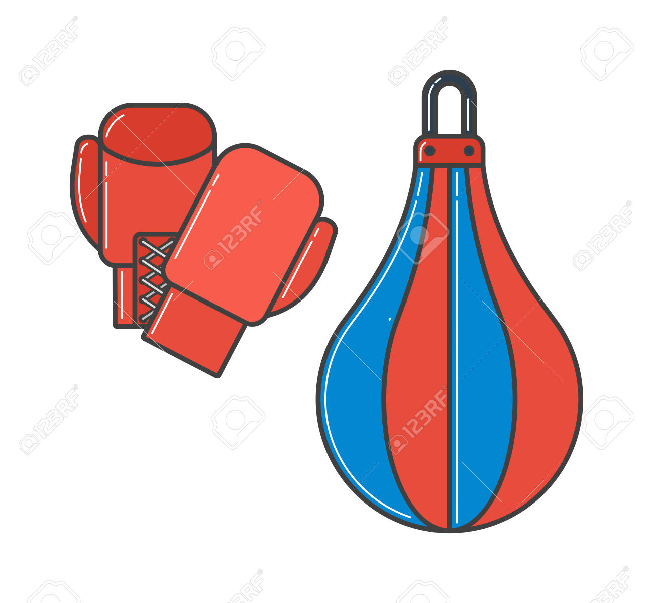 1300x1200 Yellow Clipart Boxing Glove