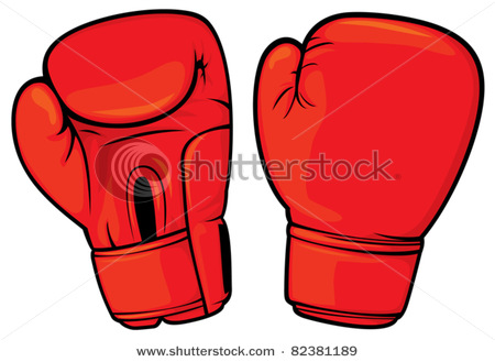 450x329 Boxing Gloves Clipart Illustrations