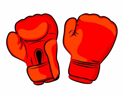 425x329 Boxing Glove Clipart